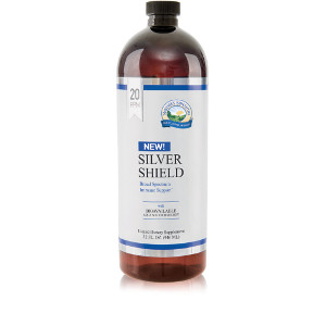 Nature Sunshine's Silver Shield (32oz) (20 ppm)
